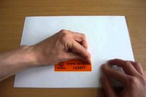 PT (Partial Transfer) Biztonsági címke